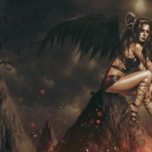 Lilith verlangte von Gott Flügel und flog davon